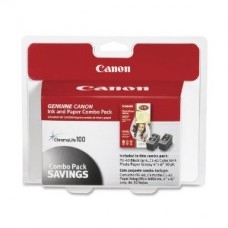 Canon 0615B009 PG-40/CLI-41 Cartridges and Glossy Photo Paper Combo Pack