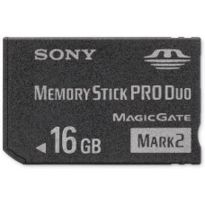 Sony 16 GB Memory Stick PRO Duo Flash Memory Card MSMT16G - Bulk Package