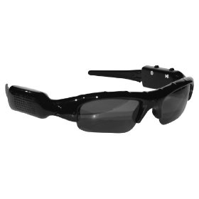 POV ACG-20 4 GB Action Video Camera Sunglass Combination (Black)