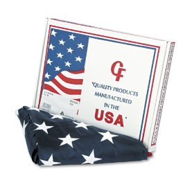 Advantus MBE002460 All-weather outdoor u.s. flag, 100% heavyweight nylon, 3 ft. x 5 ft.