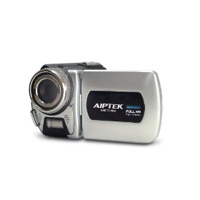 Aiptek PHD11X PocketDV T7 Pro Economy Full HD 1080P, 2.4 LCD Screen, Silver