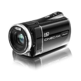 Aluratek AHDVC03F High Definition Camcorder with 5X Optical Zoom
