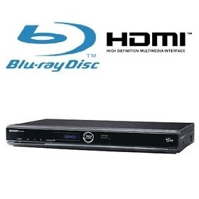 Aquos 1080P Blu-ray Disc Player with Upconversion