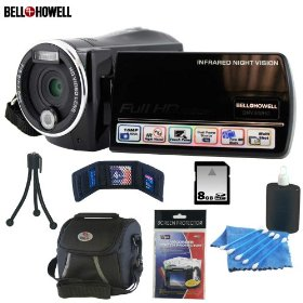 Bell and Howell DNV900HD 1080P Infrared Night Vision Camcorder With Accessory Kit