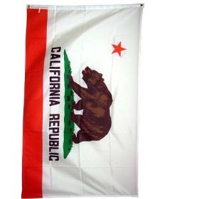 California State Flag 3x5 3 x 5 NEW CA REPUBLIC Banner
