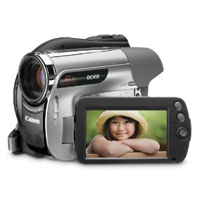 Buy dvd camcoders - Canon DC410 DVD Camcorder with 41x Optical Zoom
