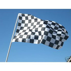 Checkered Flag 3x5 3 x 5 Brand NEW Racing Black & White