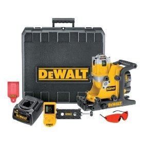 DEWALT DW073KD  1/4-Inch at 100-Feet Manual Level 9.6-Volt to 18-Volt NiCd Cordless Interior/Exterior Rotary Laser Kit