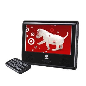 "Digital Labs 7"" Portable Digital LCD TV - Black (DT191SA)"