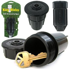 Discrete Sprinkler Head - Hide a Key