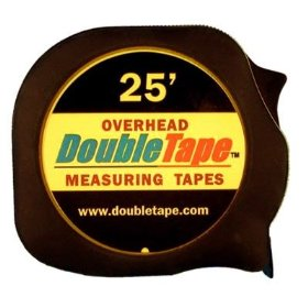 DoubleTape 25' Overhead Measuring Tape