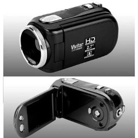 "DVR 910HD Digital Camcorder - 2.7"" LCD - CMOS - Black"