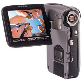 DXG 563V 5.1 MP Digital Camcorder (Silver)