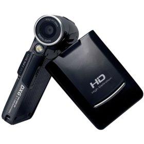 DXG DXG-569VK 5.0 Megapixel Ultra-Slim High-Definition Digital Video Camera In Box (Black)