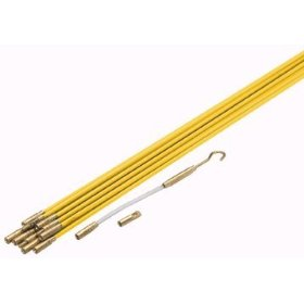 33' Electric Fiberglass Wire Pull Rods Fish Tape