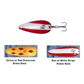 Eppinger Fishing Lures 3/4 oz Dardevle Red White