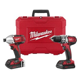 Factory-Reconditioned Milwaukee 2691-82 18-Volt Cordless M18 Lithium-Ion 2-Tool Combo Kit