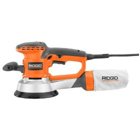 Factory-Reconditioned RIDGID ZRR2611 Professional 6-inch Random Orbit Variable Speed Sander