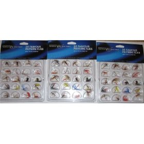 60 Flies trout pan fish NIP fishing fly flys lures BL
