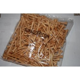 Golf Tees Bamboo 250 Bulk Pack