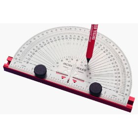 Incra PROTRAC06 6-Inch Precision Marking Protractor