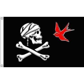 New 3x5 Jack Sparrow Pirate Flag 3 x 5 Jolly Roger