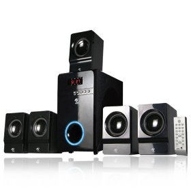 MA Audio MA5817 800 Watt Home 5.1 Powered Sub & Multi Speaker System