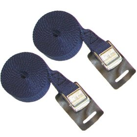 Malone 9 Feet Canoe and Kayak Cam Buckle Load Straps, 2 Pack