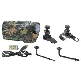 Midland XTC150VP2 Standard Definition 640 x 480 Resolution Extreme Action Camera with 4 types of Mounts (Mossy Oak)