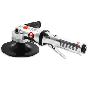 Neiko 7-Inch Pneumatic Air Angle Polisher Buffer with Handle