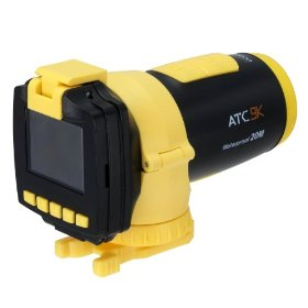 Oregon Scientific ATC 9K Full 1080P High Definition Water Resistant Action Camera with G Force Sensor and 1.5-Inch Color LCD Screen (Yellow)