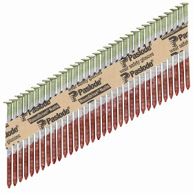 Paslode 650239 Round Head 3-1/4-Inch by .131-Inch by 30 Degree Paper Collated Bright Framing Nail (2,500 per Box)