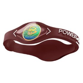 Power Balance LLC Silicone Wristband (SIZE: Extra Large, COLOR:Black/Black)