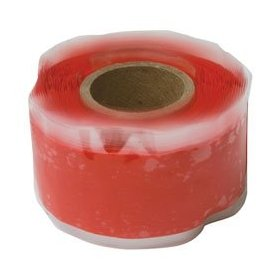 "Rescue Tape RP2563 Red Silicon 1"" x 12' Self-Fusing Tape (1 each)"
