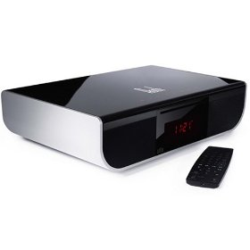 Roth Audio ALFiE Integrated 2.1 Speaker System with DVD, CD, and iPod Dock (Black/Silver)