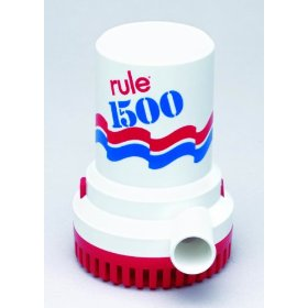 Rule 1500 GPH Non-Automatic Bilge Pump