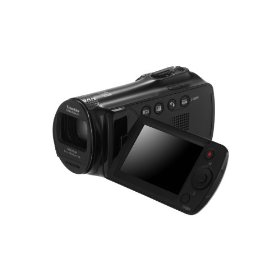 Samsung SMX-F54 Camcorders with 65X Zoom and 16 GB Memory (Black)