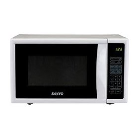 SANYO MICROWAVE OVEN 7 CU FT WHITE
