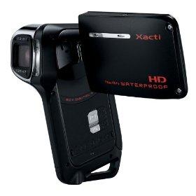 Sanyo Xacti VCP-CA9 GX High-Definition 720p Waterproof Camcorder, 9 MP, 5x Op...