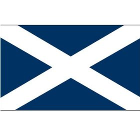 Scotland - St Andrews Cross - 3ft x 5ft Polyester Scottish Flag