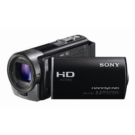 Sony Handycam HDR-CX160/B 16 GB HDD 30X Zoom Digital Camcorder (HDRCX160/B)