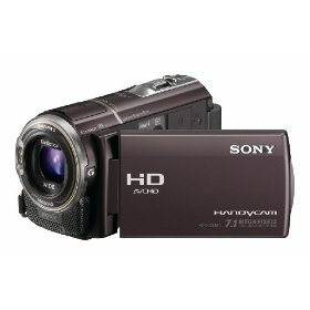 Sony HDR-CX360V High Definition Handycam Camcorder (Bordeaux)