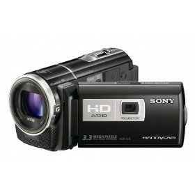 Sony HDR-PJ10 High Definition Handycam Camcorder (Black)