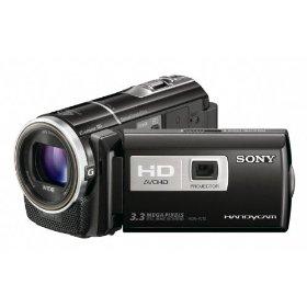 Sony HDR-PJ10 High Definition Handycam Camcorder (Black)