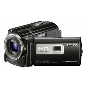 Sony HDR-PJ50V High Definition Handycam Camcorder (Black)