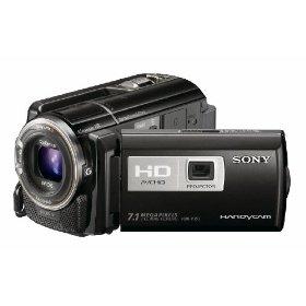 Sony HDR-PJ50V High Definition Handycam Camcorder (Black)