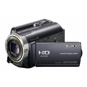 Sony HDR-XR350V 160GB High Definition HDD Handycam Camcorder
