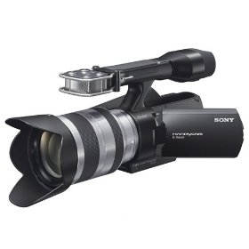 Sony NEXVG10 Full HD Interchangeable Lens Camcorder (Black)