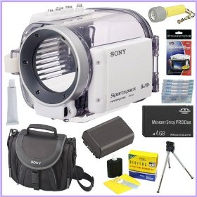 Sony SPK-HCE Underwater Housing for Camcorders + Underwater Accessory Kit