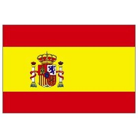 Spain Flag 3ft x 5ft Superknit Polyester